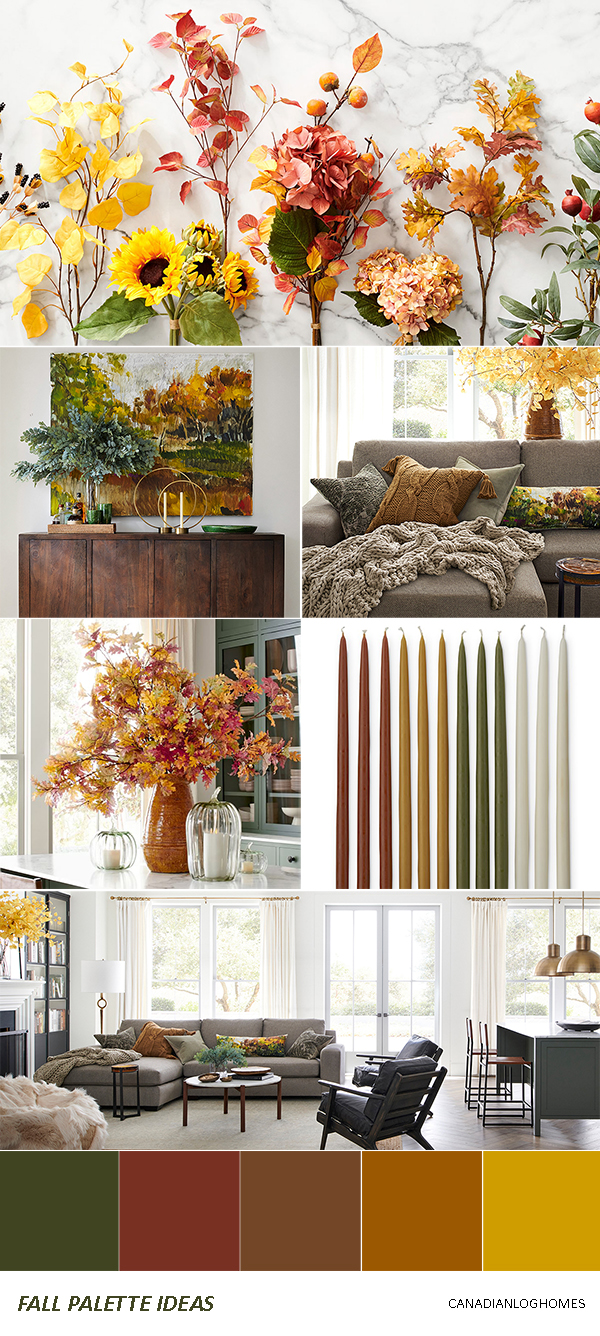 Rustic Fall Decorating Ideas   Palette 4