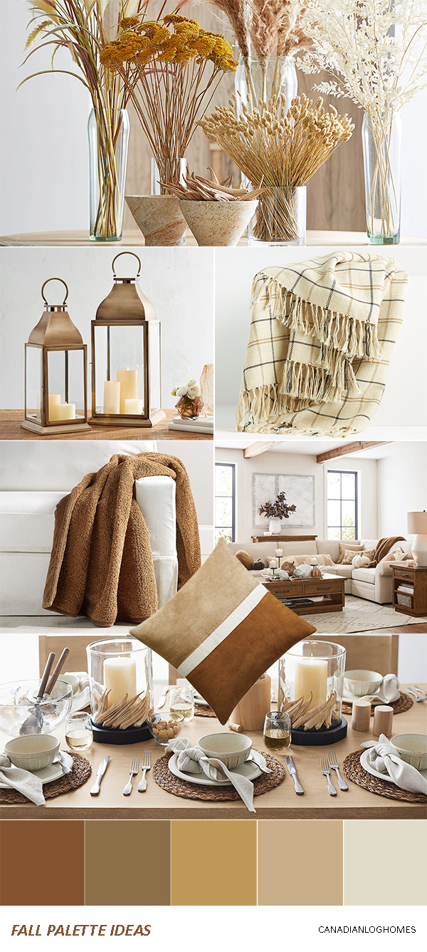 Rustic Fall Decorating Ideas   Palette 2