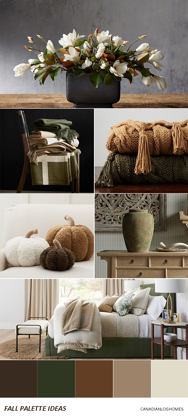 Rustic Fall Decorating Ideas - Palette 1