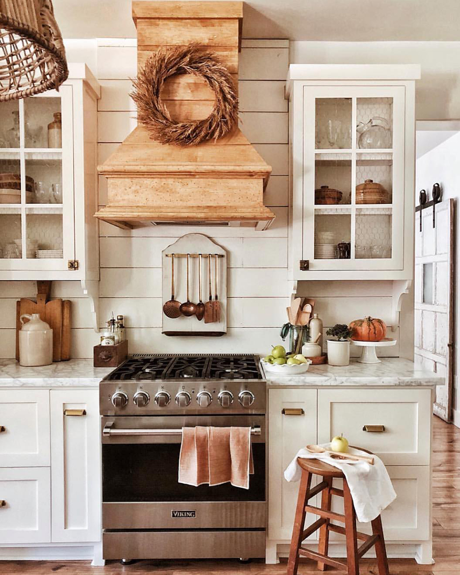 Rustic Fall Kitchen