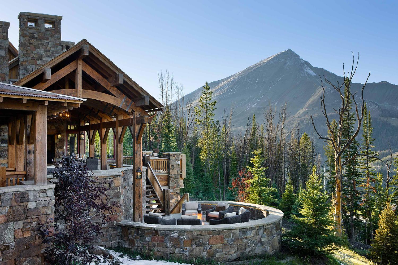 Rustic Outdoor Living | Locati Architects