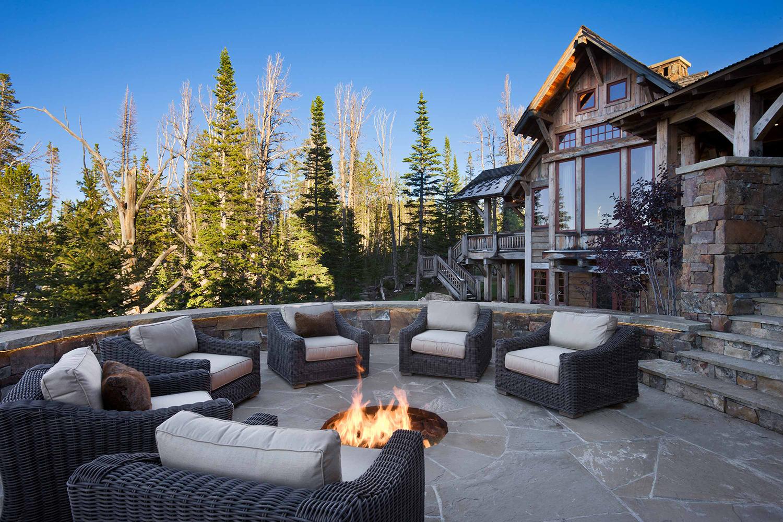 Rustic Outdoor Patio Ideas   Locati Design