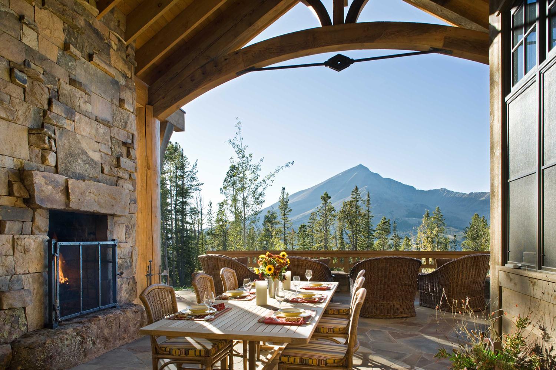 Rustic Outdoor Living Spaces | Locati Design