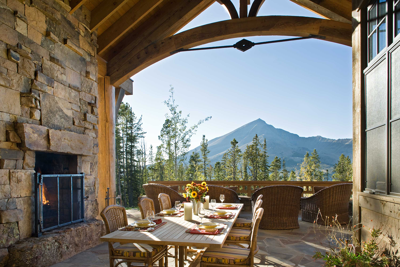Rustic Outdoor Living Spaces   Locati Design
