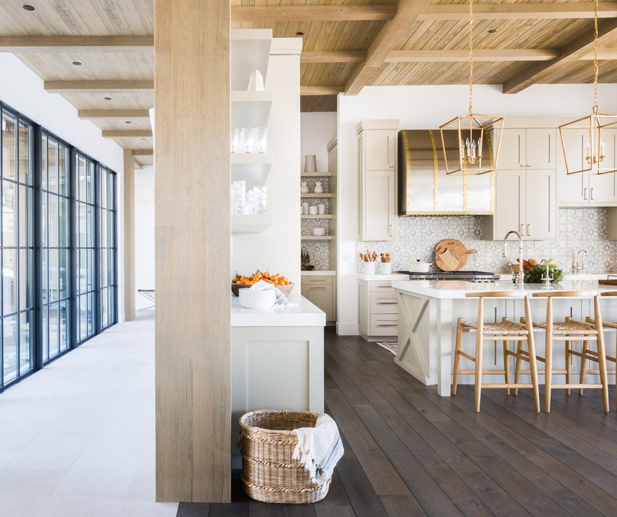 Modern Mountain Home Interior