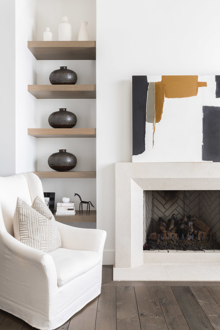 Modern Mountain Living Room