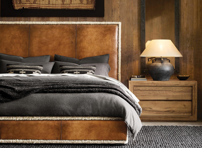 Modern Rustic Mountain Bedroom