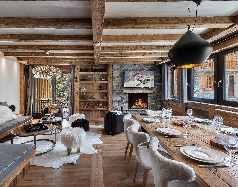 Mountain Home Interior Design Ideas