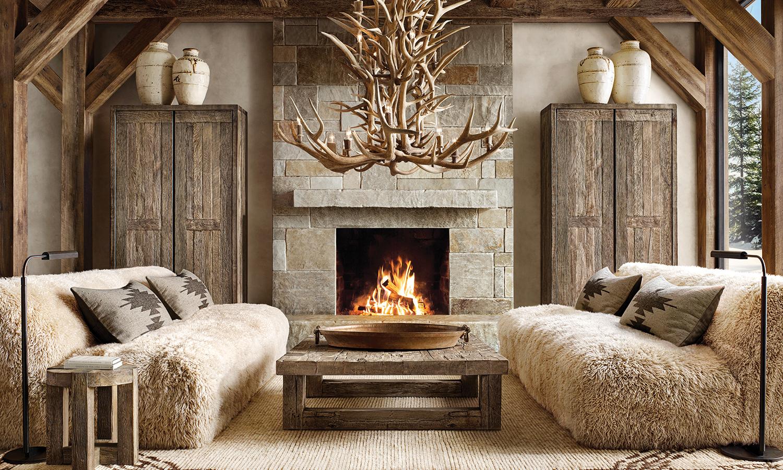 Rustic Mountain Home Interiors