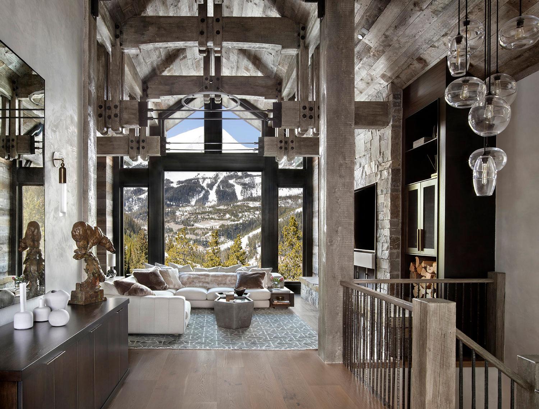 Modern Rustic Living Room Ideas   Gibeon Photography
