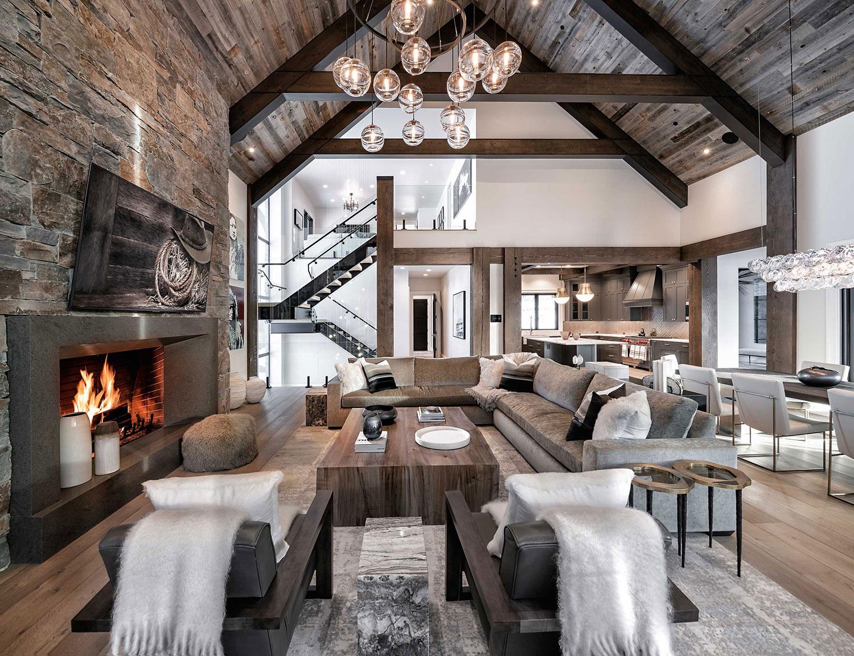 Contemporary Mountain Home   Locati Architects