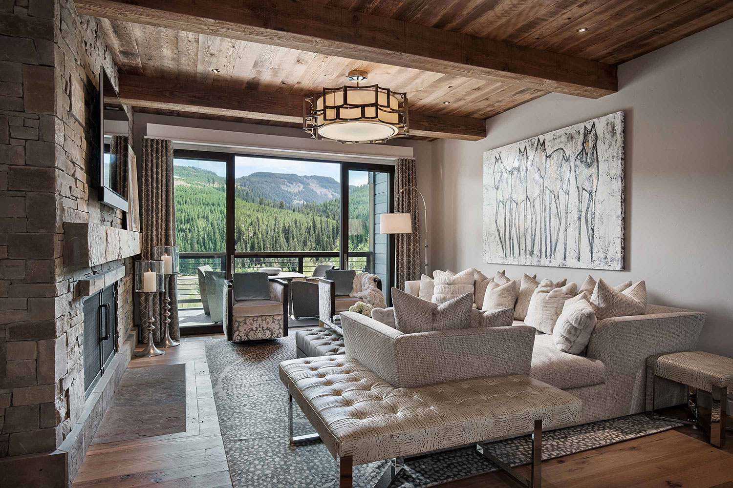 Modern Rustic Mountain Home | Locati Architects