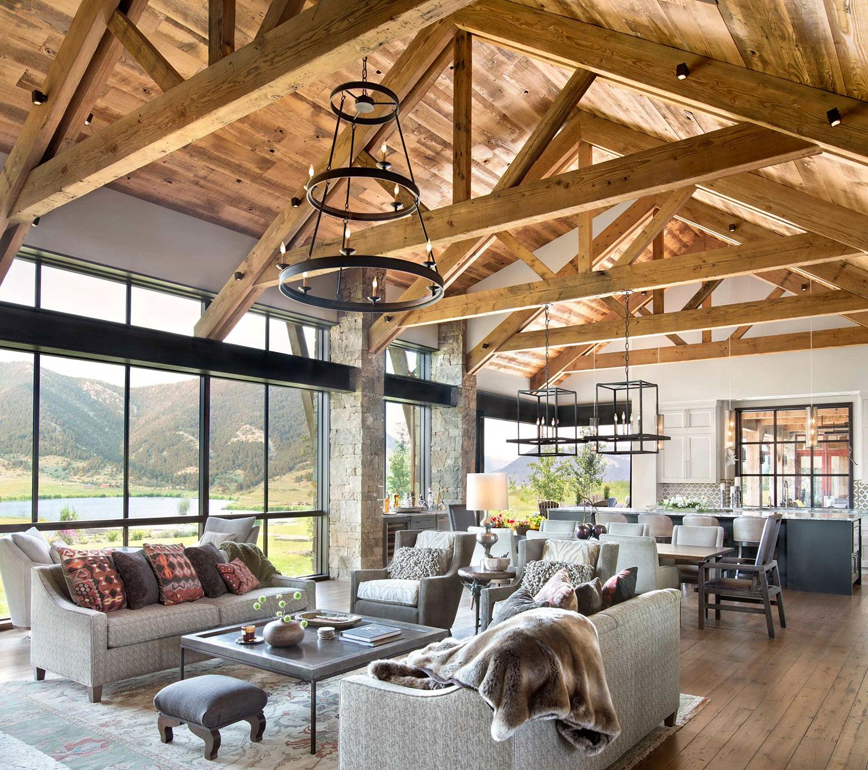 Contemporary Rustic Interiors   Locati Architects