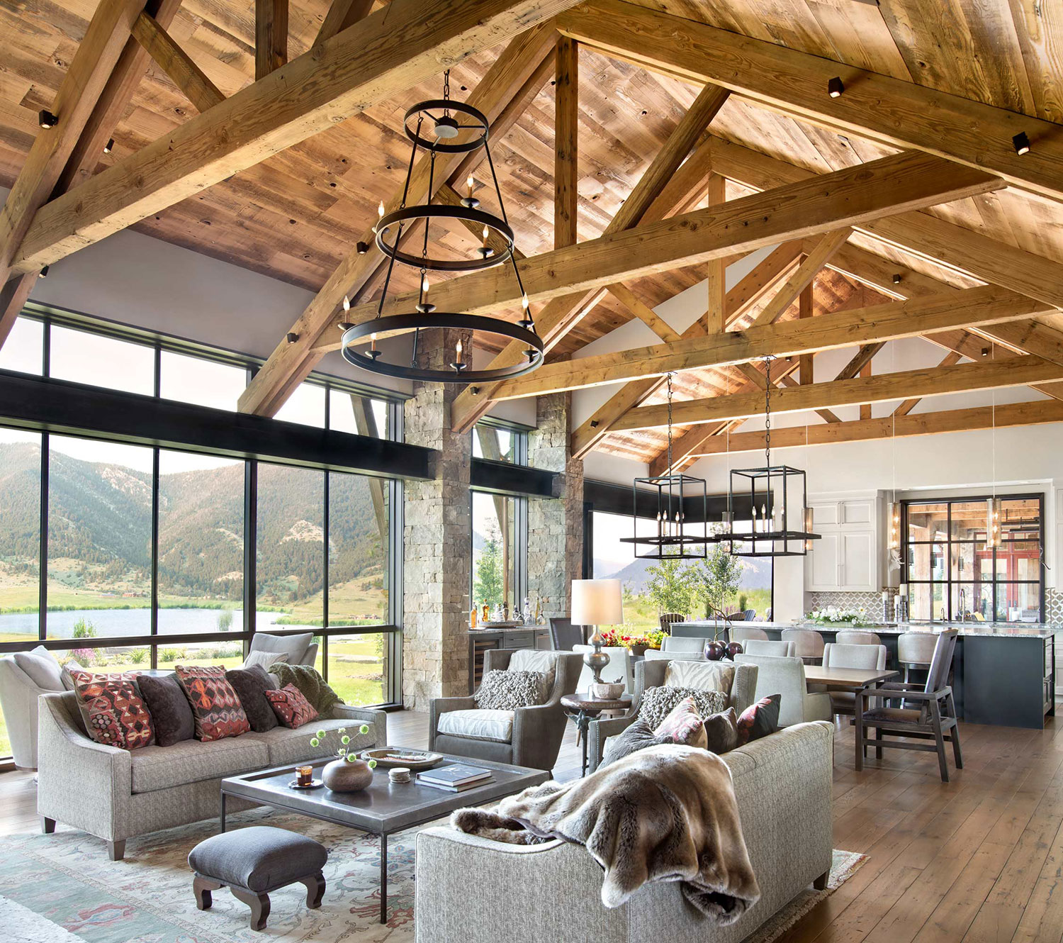 Contemporary Rustic Interiors | Locati Architects