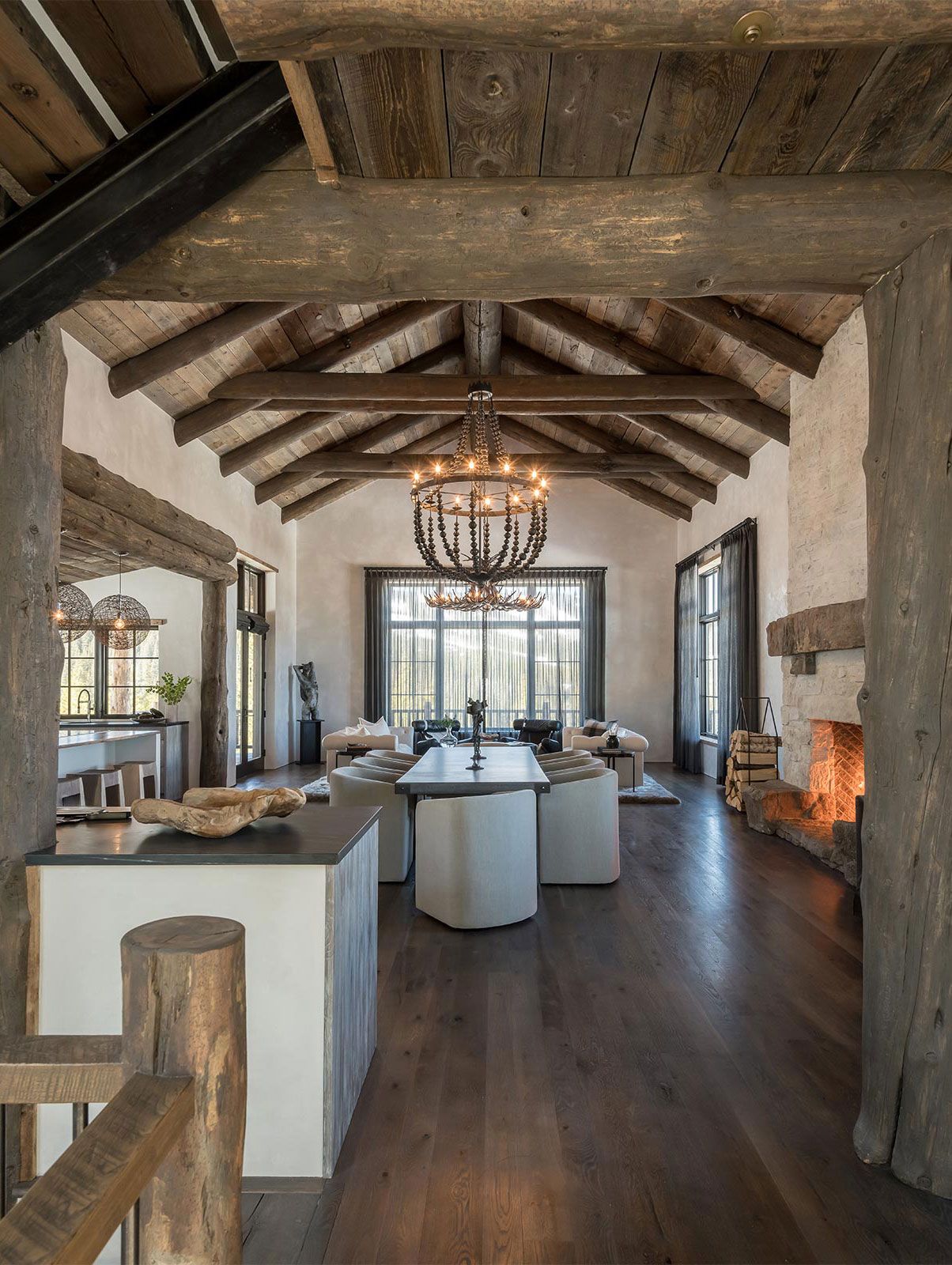 Rustic Great Room Ideas | Pearson Design Group