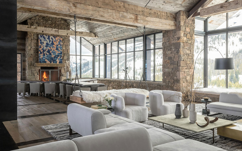 Contemporary Rustic Mountain Home