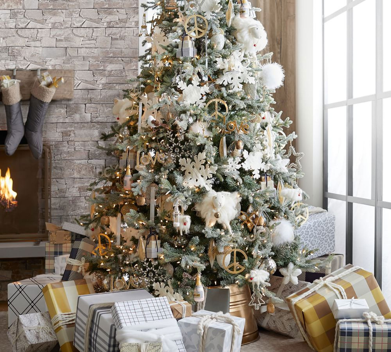 Alpine Luxe Christmas Tree