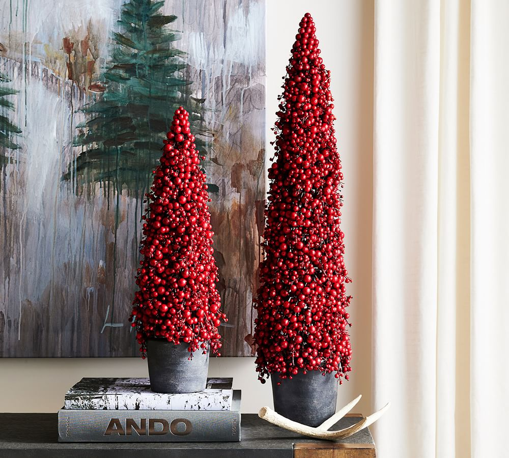 Berry Cluster Cone Tree