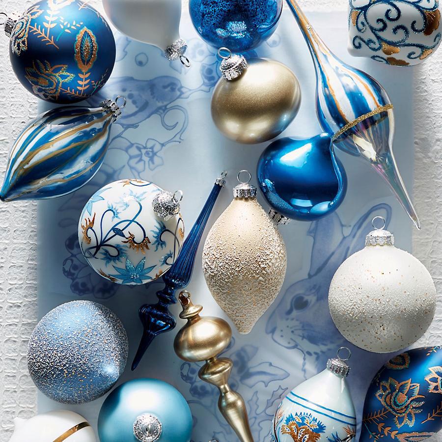 Delft Blue Ornaments