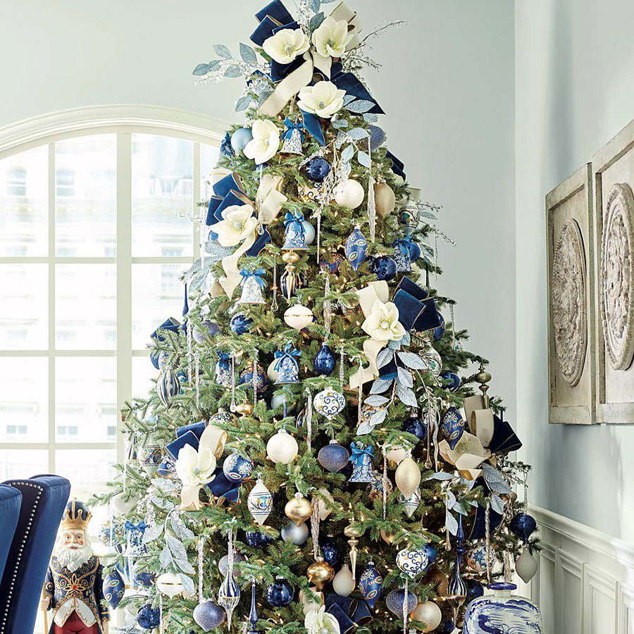 Delft Blue Ornaments