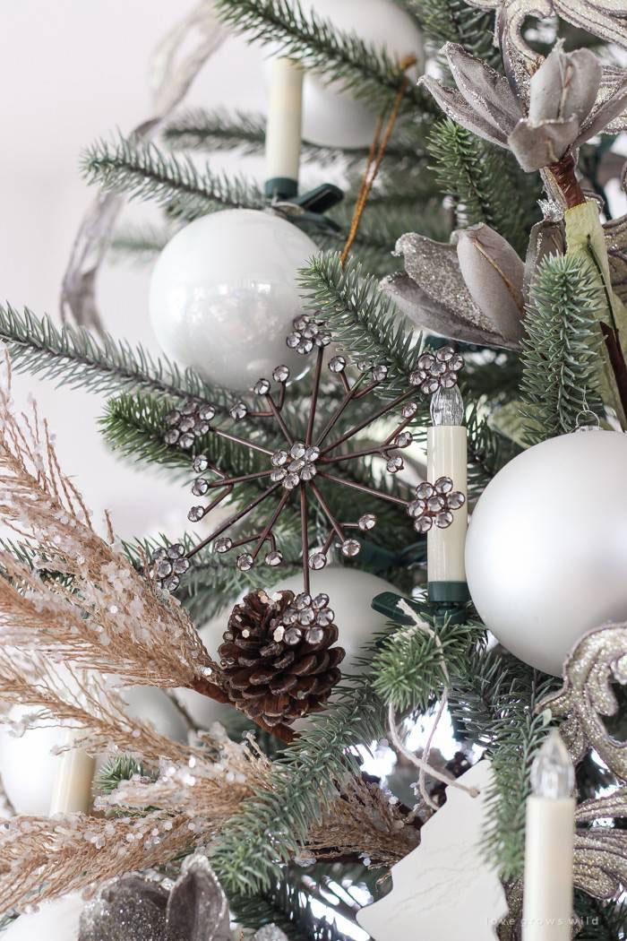 Farmhouse Snowflake Ornaments