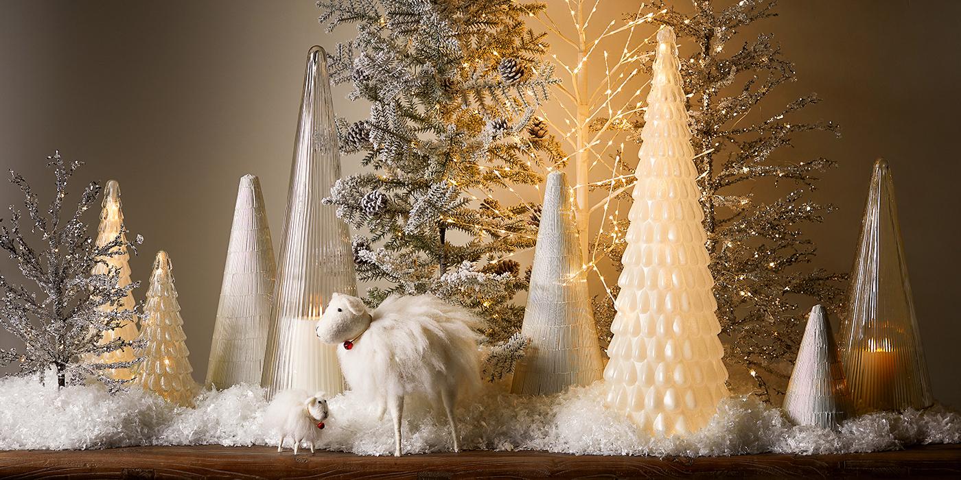 Christmas Lit Trees