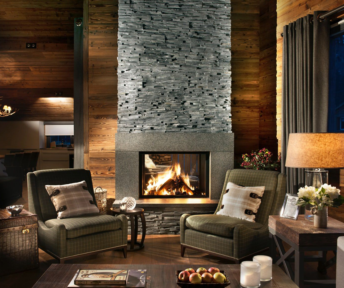 Rustic Great Room Ideas