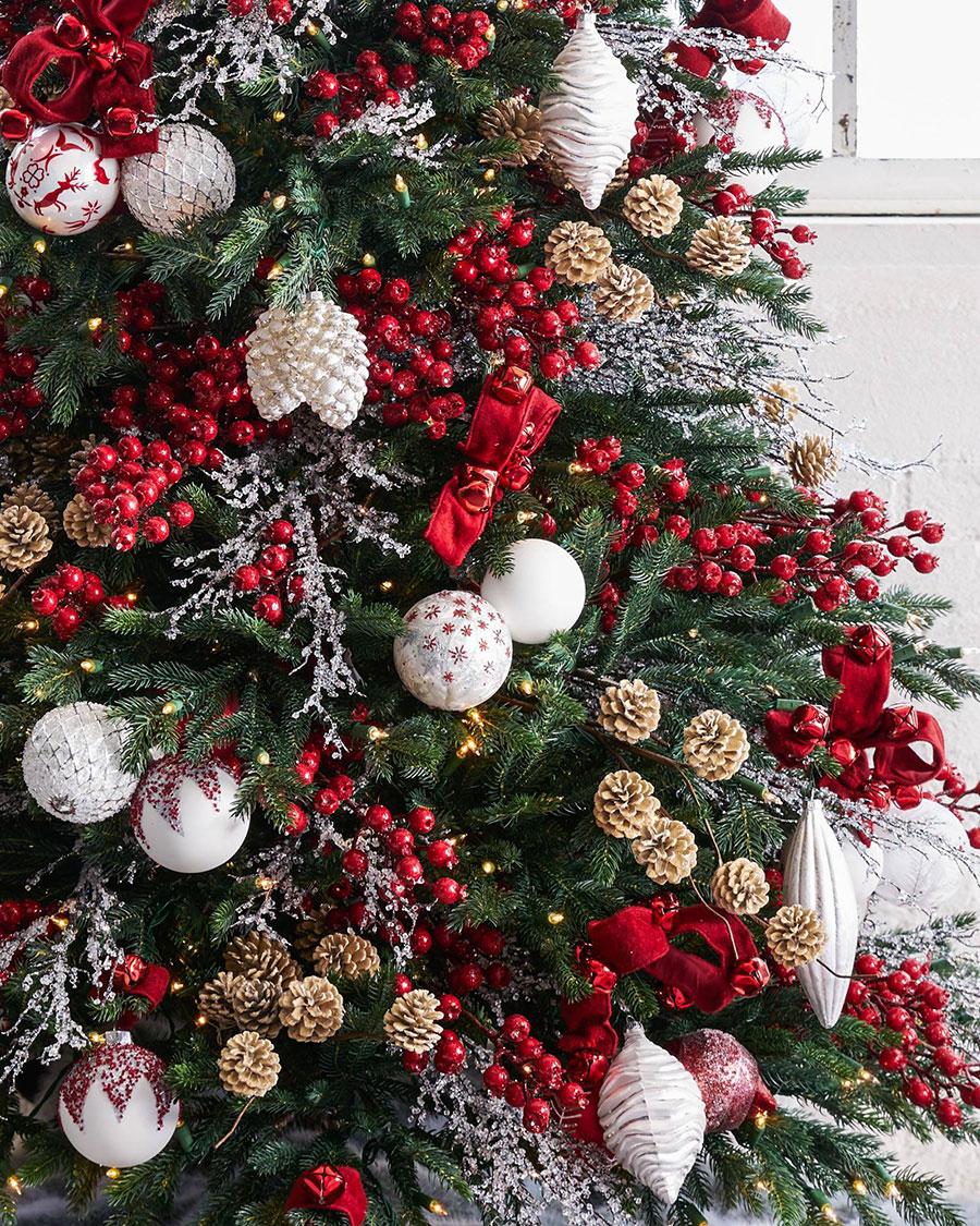 Christmas Tree Decorating Ideas: Nordic Tree