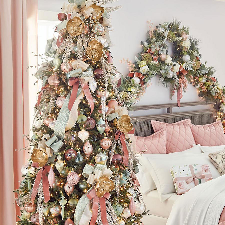 Royal Blush Ornament Set