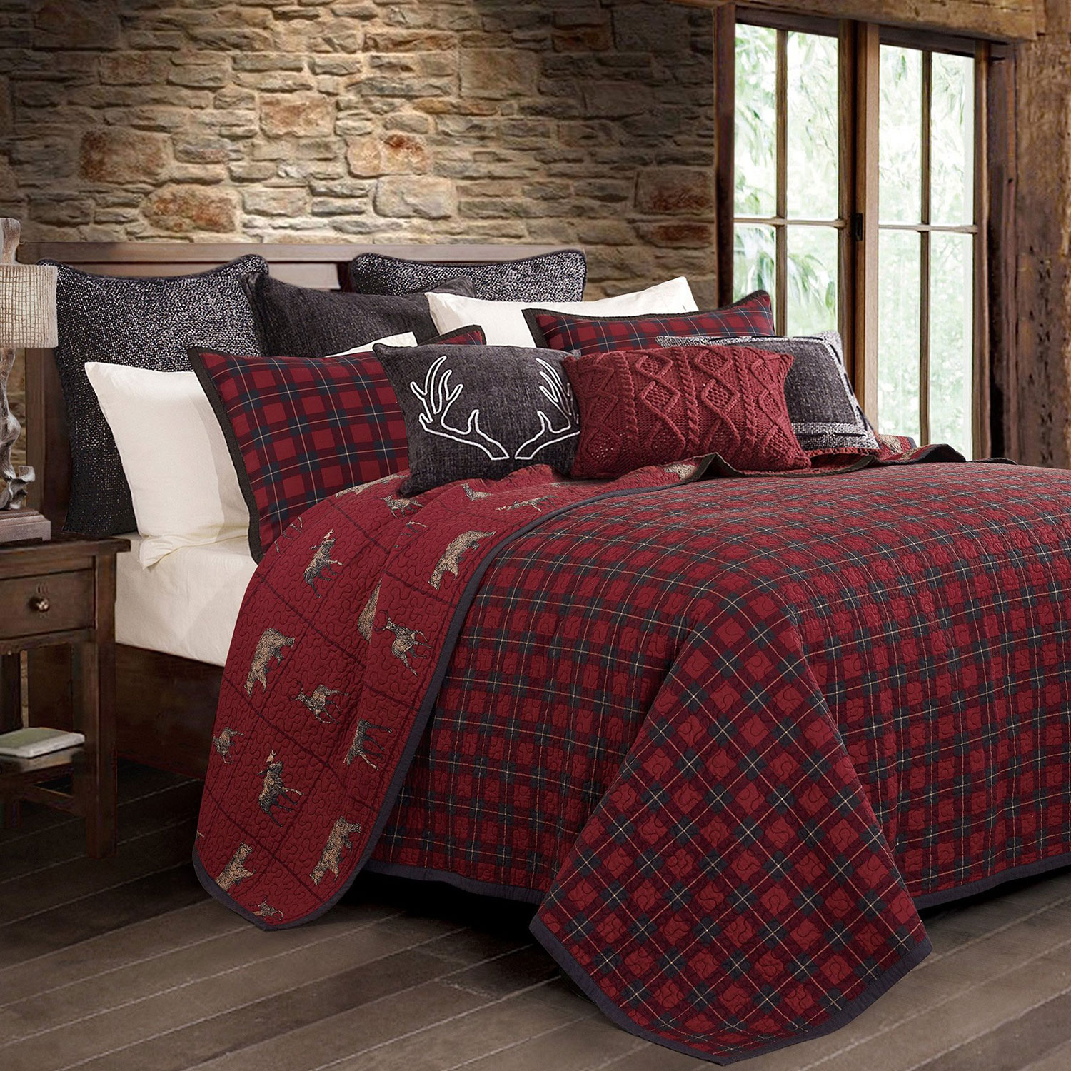 Rustic Christmas Bedding