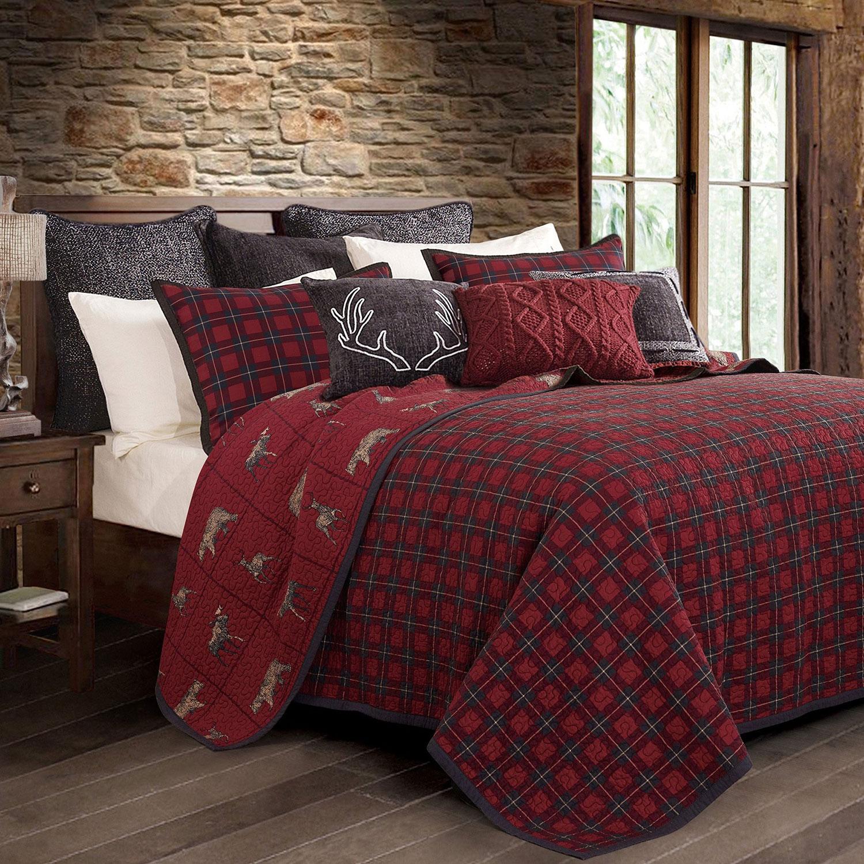 Rustic Christmas Bedding