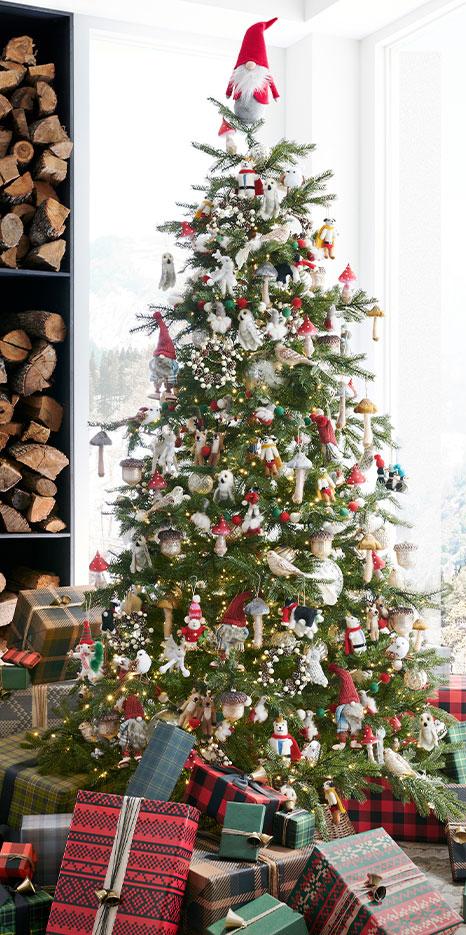 Rustic Christmas Tree Ornaments