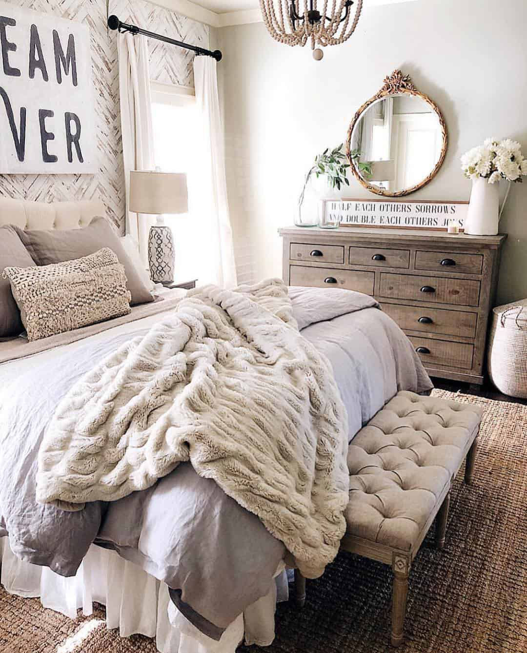 Cozy Farmhouse Bedroom