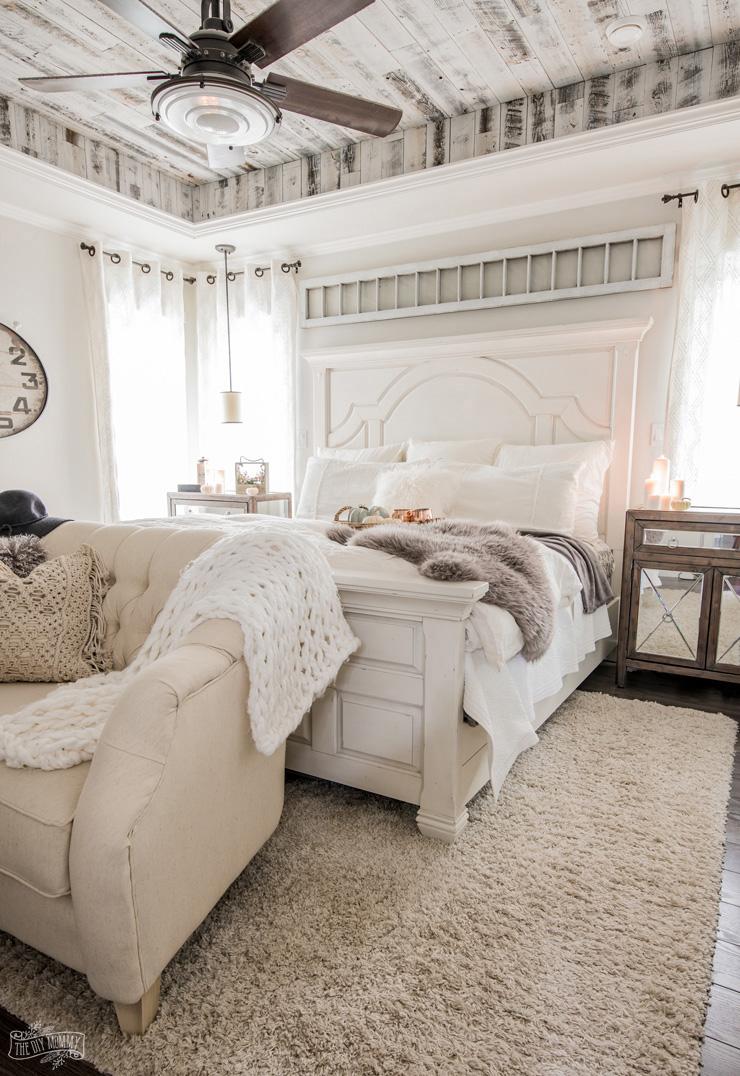 Modern Rustic Farmhouse Bedroom