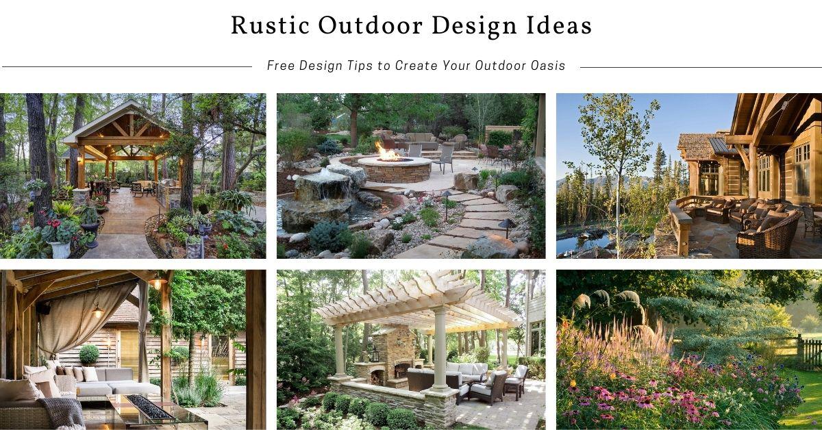 Rustic Backyard Decorating Ideas