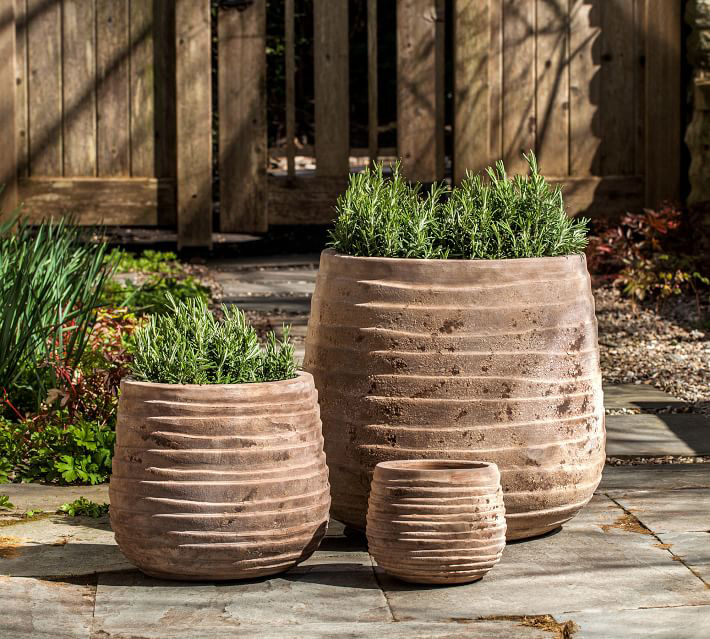 Rustic Planter Collection