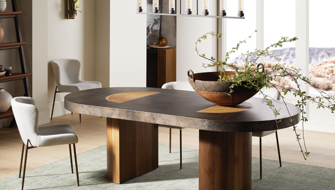 Accacius Oval Dining Room Table