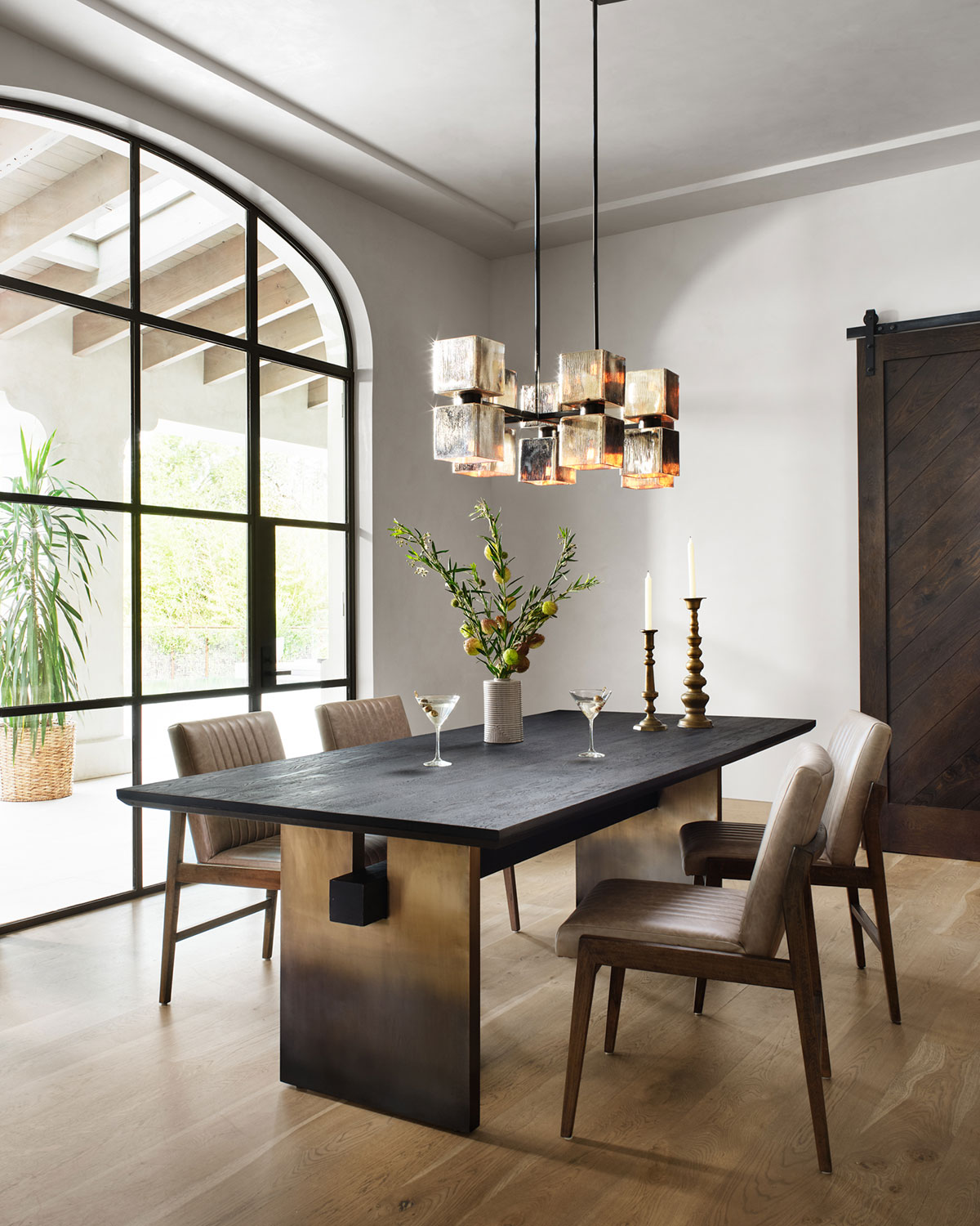 Four Hands Ombre Dining Table