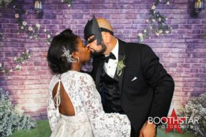 Jenelle And Hamed Wedding Photo Booth