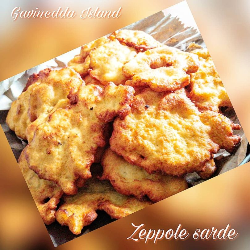 Zeppole sarde