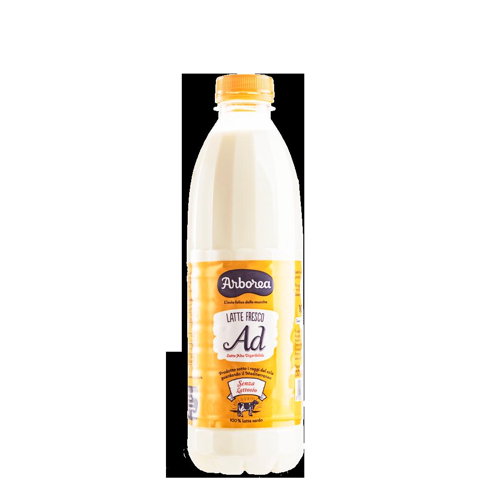 Latte senza lattosio Arborea