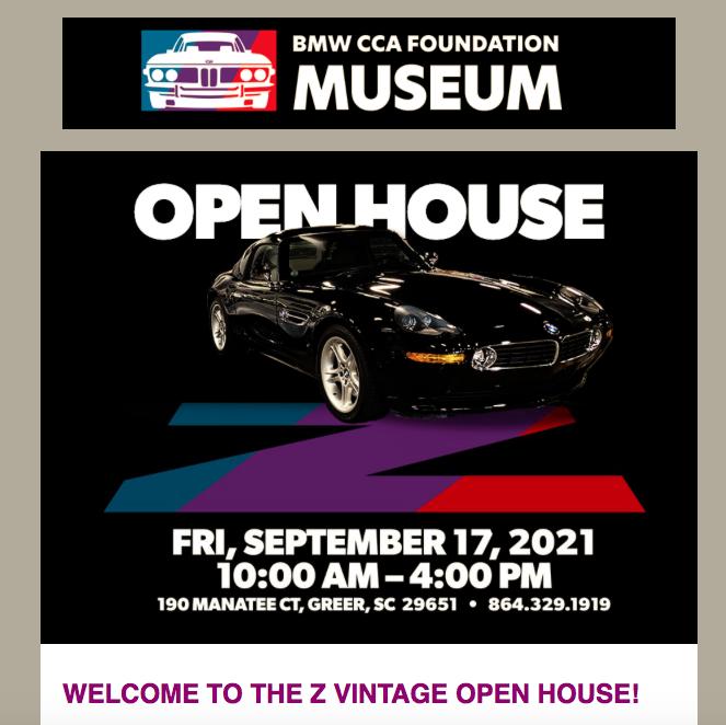 BMW Z Cars Freedom & Fun  BMW CCA Foundation @ BMW CCA Foundation