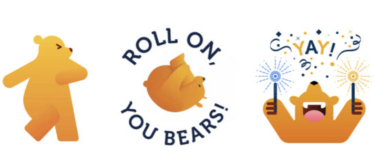 Cal Bear Stickers