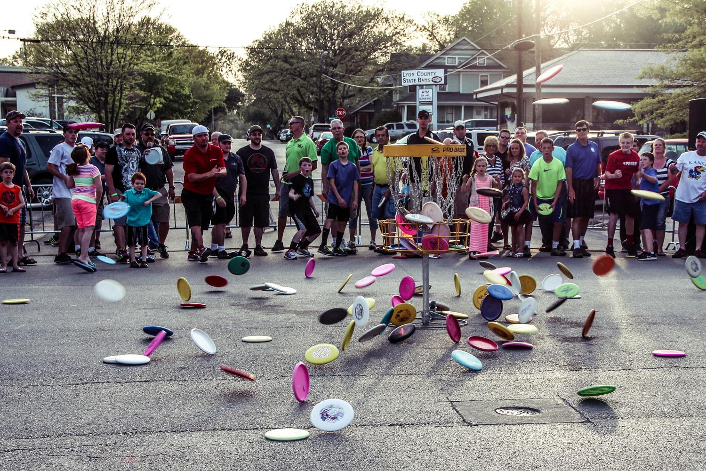 Dynamic Discs Glass Blown Open Block Party