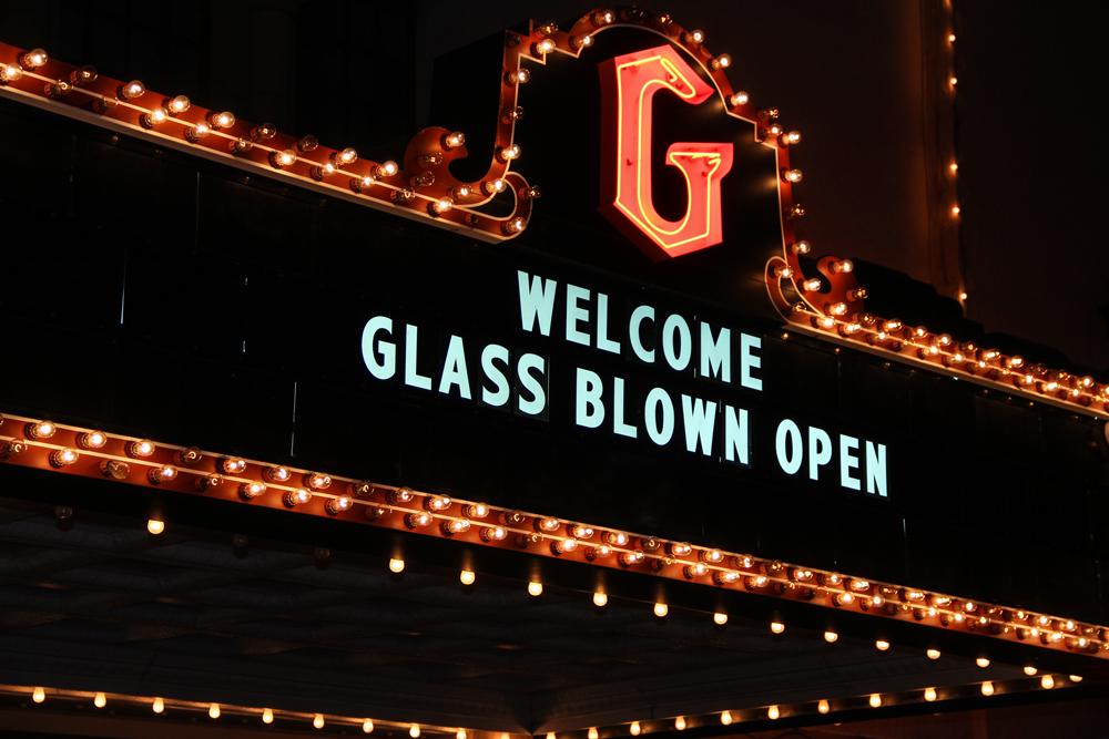 Glass Blown Open Disc Golf Granada Theatre