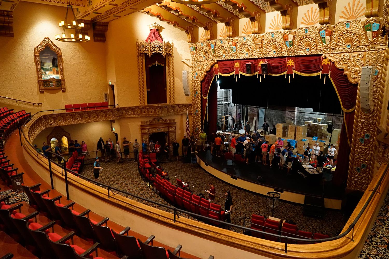 Glass Blown Open Granada Theatre