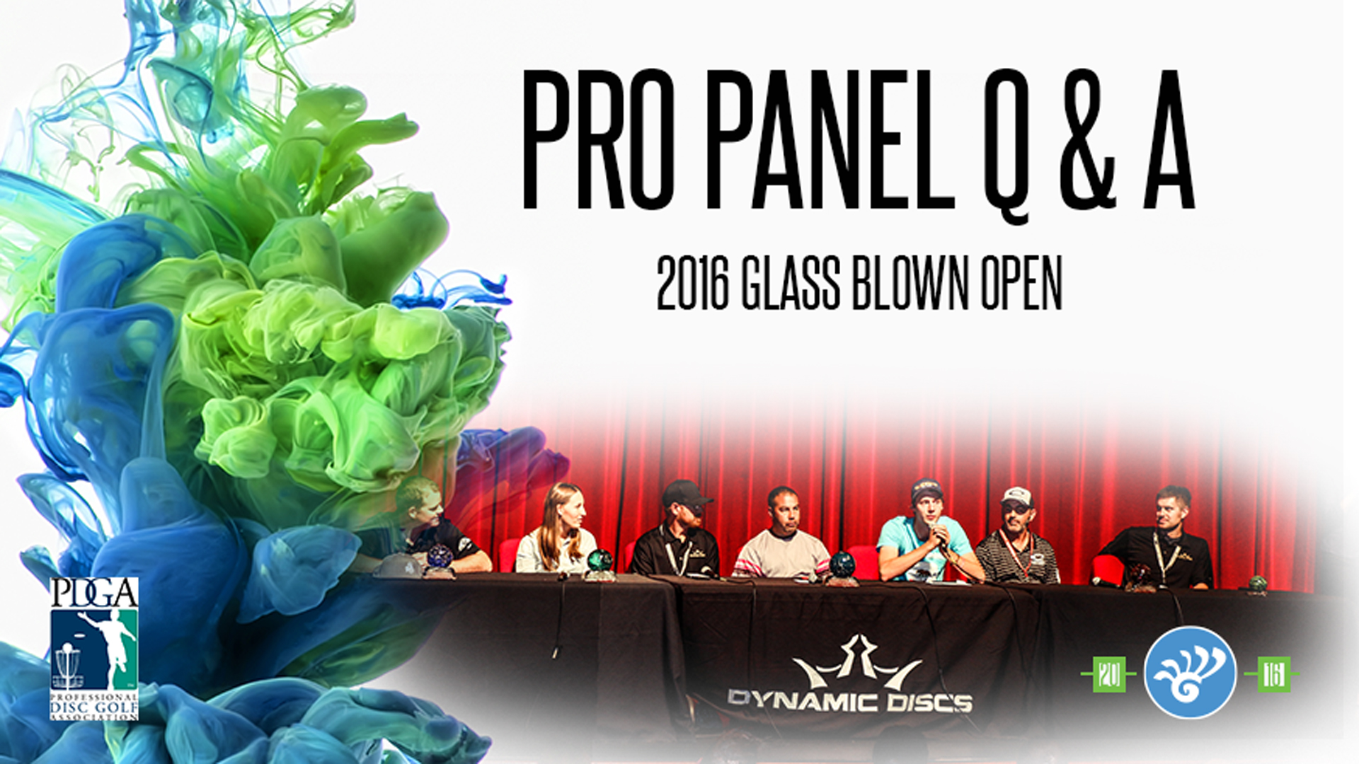 Glass Blown Open PDGA Pro Panel