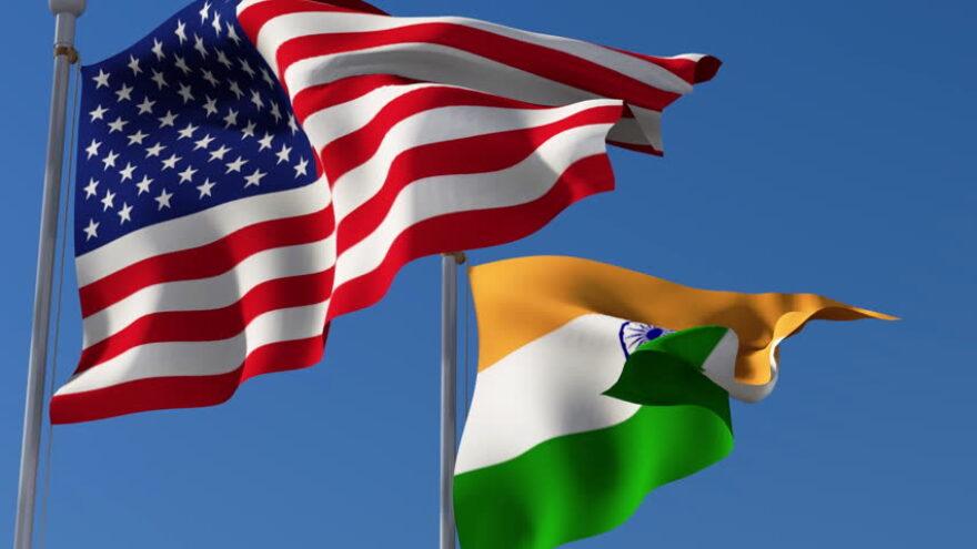 indo-us-flag-hoisting