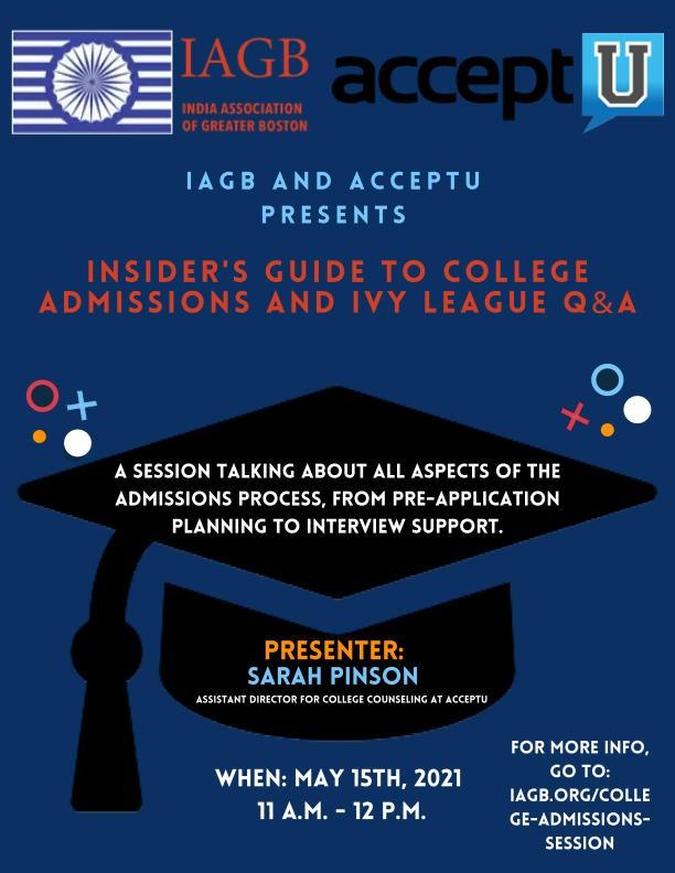 IAGB and AcceptU Flyer