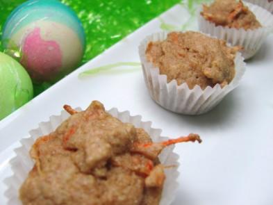 carrot mini-muffins dog treat/biscuit recipe